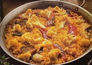 005088 Cauliflower and Cod Paella recipe - Spanish recipes
