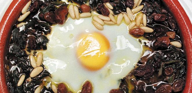 005017 Jaén spinach recipe - Spanish recipes
