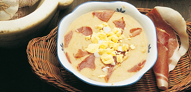 005029 Spanish Cold tomato and bread soup recipe – Salmorejo recipe