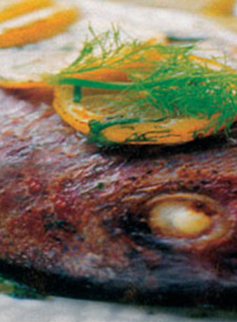 005035 Grilled fish with fennel recipe – Greek recipes