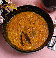 005051 Risotto Rice with lobster  - Spanish recipes