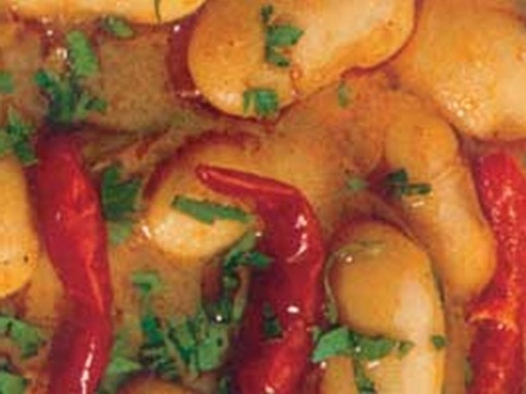 005053 Giant Beans in the oven – Greek recipes