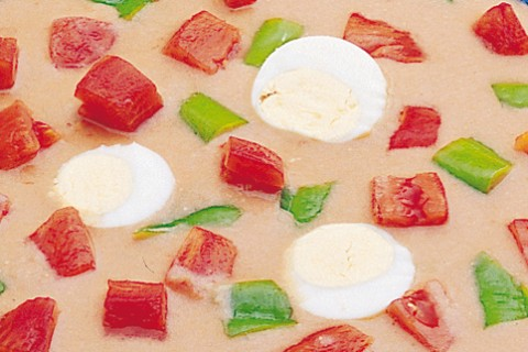 Jaen style pipirrana salad recipe – Pipirrana al estilo de Jaén – Spanish recipes