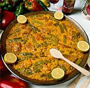 005076 Traditional Valencian Paella recipe - Spanish recipes