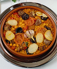 005085 Oven-baked rice recipe – Spanish recipes